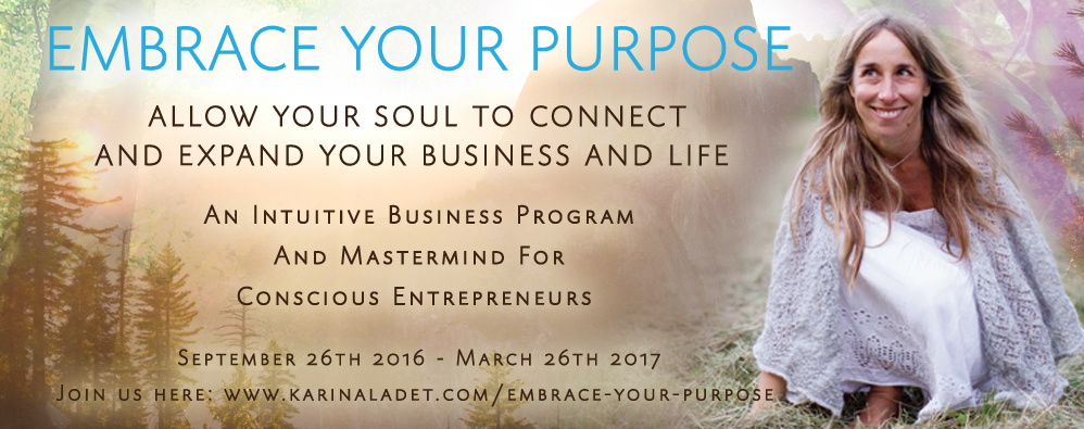 embrace your purpose intuitive business