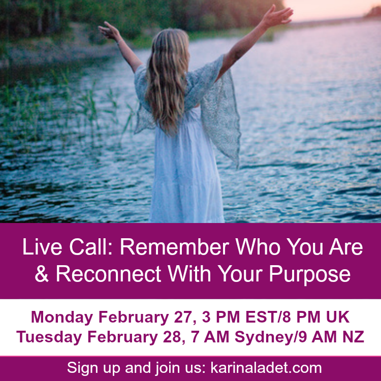 Live Call: Remember Who You Are & Reconnect With Your Purpose