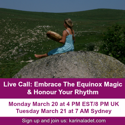 Live Call - Embrace The Equinox Magic & Honour Your Rhythm