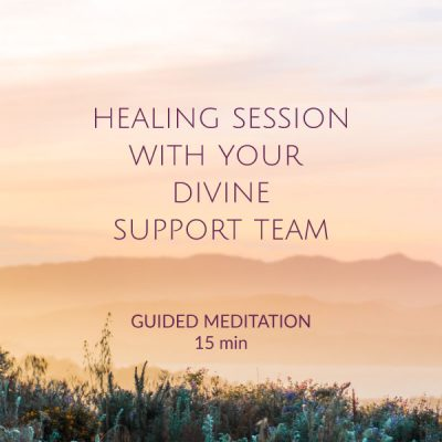 Healing session with your divine support team