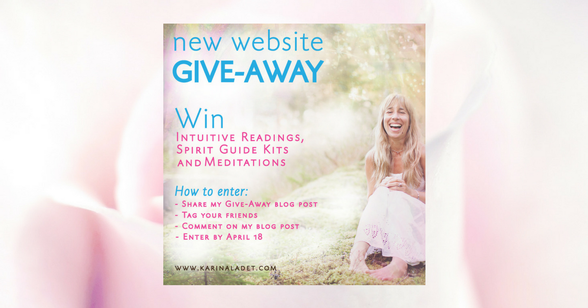 Big Give-Away To Celebrate My New Website